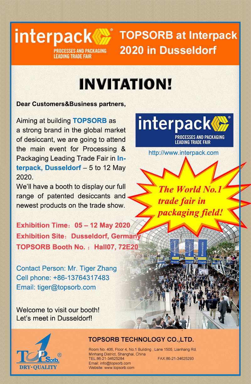 TOPSORB at Interpack 2020