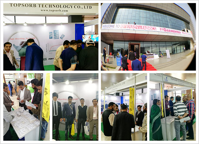 TOPSORB Container Desiccant GARMENTECH Trade Shows in Dhaka, 2018