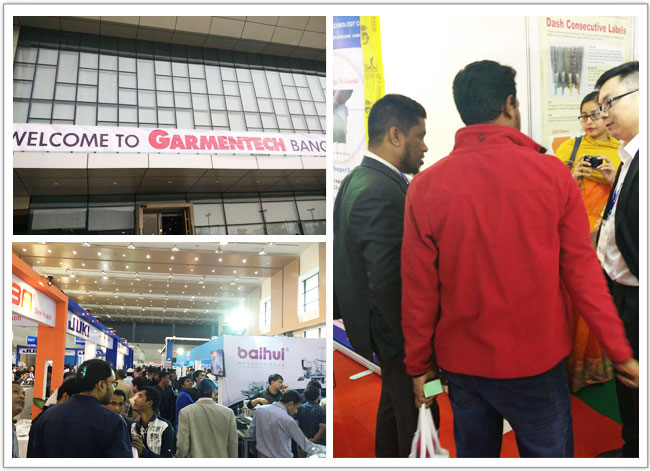 TOPSORB Container Desiccant GARMENTECH Trade Shows in Dhaka, 2017